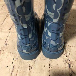 Adorable Coach Rain Boots